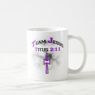 Équipe Jésus Titus chrétien 211 Mug Blanc