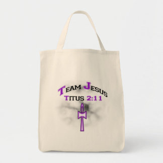 Équipe Jésus Titus chrétien 211 Sac En Toile Épicerie