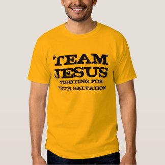 équipe Jésus Tshirts