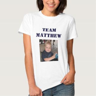 Équipe Matthew - femelle adulte T Shirt