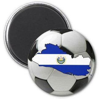 Équipe nationale du Salvador Magnet Rond 8 Cm