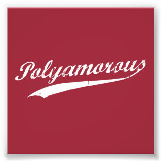 Équipe Polyamory Polyamorous et fier Tirages Photo