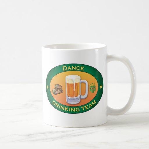 Équipe potable de danse mugs