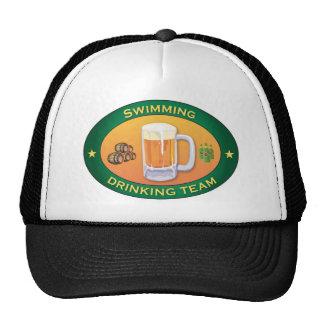 Équipe potable de natation casquette de camionneur