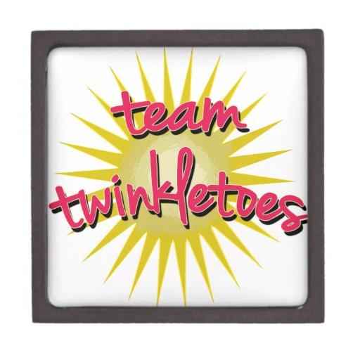 Équipe Twinkletoes avec Starburst Boîte À Babioles De Première Qualité