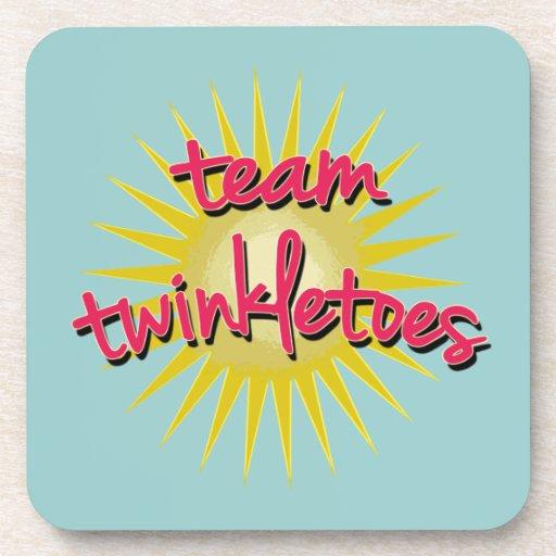 Équipe Twinkletoes avec Starburst Sous-bock