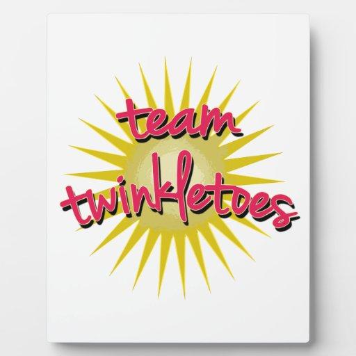 Équipe Twinkletoes avec Starburst Plaques D'affichage