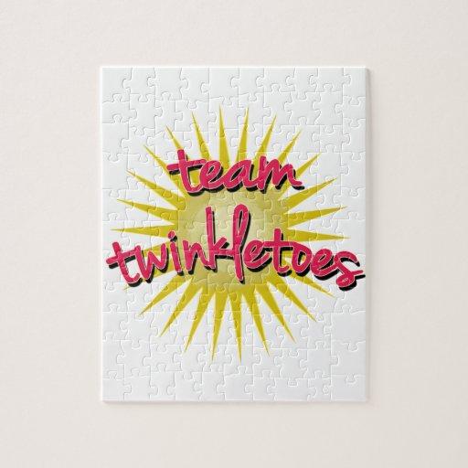 Équipe Twinkletoes avec Starburst Puzzle