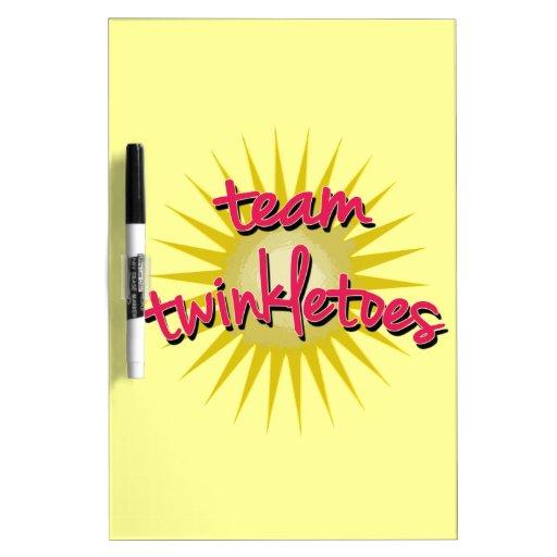 Équipe Twinkletoes avec Starburst Tableau Effaçable À Sec
