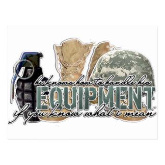 Equipment Postcard