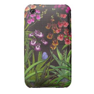 Equitant Oncidium Orchids iPhone 3 Case-Mate Case