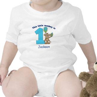 Ęr anniversaire de petits enfants de singe personn body