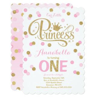 Ęr anniversaire invitation d'or de rose