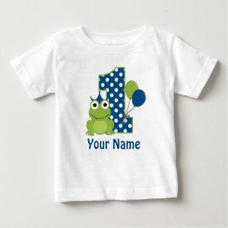 ęr Chemise personnalisée par grenouille T-shirt Pour Bébé
