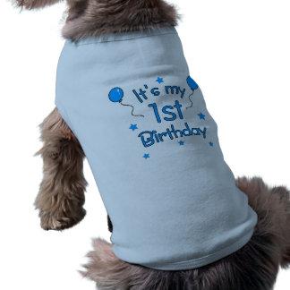ęr Chien d'anniversaire T-shirt Pour Animal Domestique