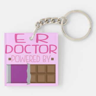 ER Doctor chocolate Gift for Her Keychain