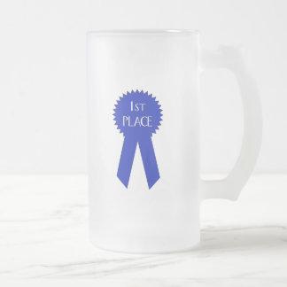 ęr Gagnant d'endroit - customisé Mug En Verre Givré