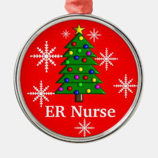 ER Nurse Christmas Tree Ornament