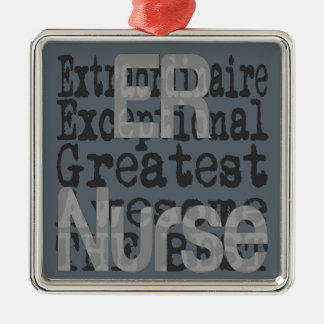 ER Nurse Extraordinaire Metal Ornament