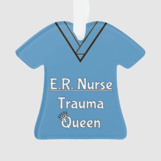 ER Nurse Scrubs Ornament