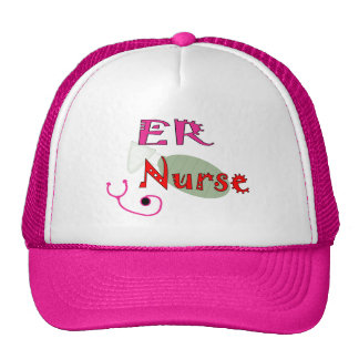 ER Nurse T-shirts & Gifts Trucker Hat