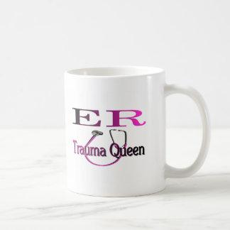 "ER Nurse ""Trauma Queen"" Shirt/Gifts Coffee Mugs"