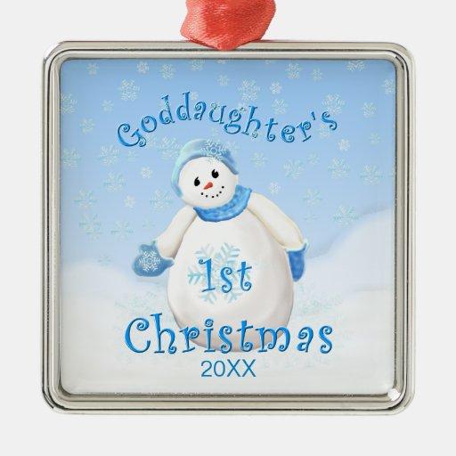 Ęr ornement de bonhomme de neige de Noël de la fil