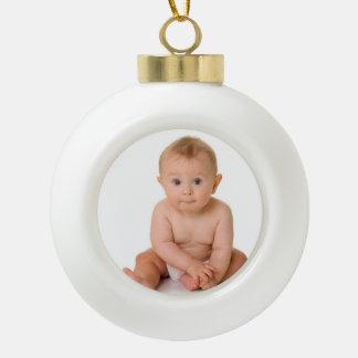 Ęr ornement de Noël du bébé