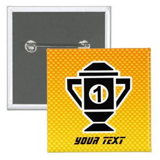 ęr Placez le trophée Jaune-orange Badges