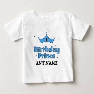 ęr Prince d'anniversaire T-shirt Pour Bébé