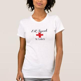 ER Squad Nurse Shirts ER Staff Hospital Uniforms