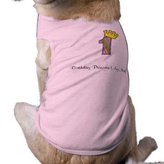 ęr T-shirt d'anniversaire T-shirts Pour Chien
