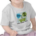 Ęr T-shirt personnalisé d'anniversaire de grenouil