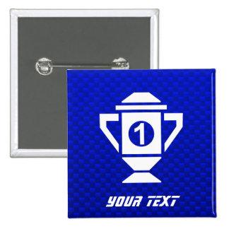 Ęr trophée d endroit de bleu badges