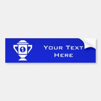 Ęr trophée d'endroit de bleu autocollant de voiture