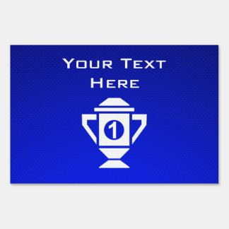 Ęr trophée d'endroit de bleu