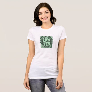 ERA YES Starbucks Form Dark Green T-Shirt