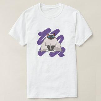 Éraflure de chat de Birman T-shirt