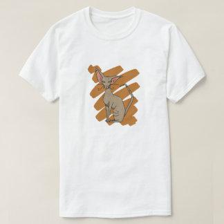 Éraflure de chat orientale t-shirt