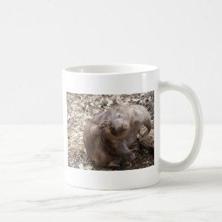 Éraflure de wombat tasse