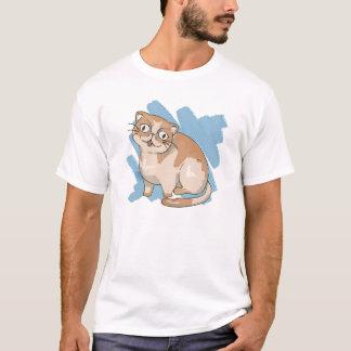 Éraflure exotique de Shorthair T-shirt