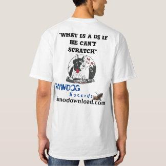 Éraflure grande 2 du DJ de T-shirt de Hanes de vos
