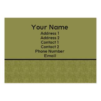 éraflure moderne cartes de visite personnelles