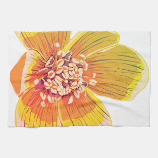 Eranthus - Rainbow Flower Kitchen Towel