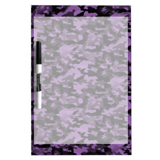 Erasable table Dry Purple Camouflage Dry Erase Board