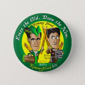 Erase The Old 2 Inch Round Button