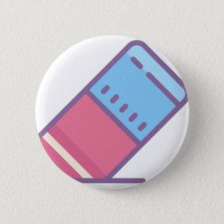 Eraser 2 Inch Round Button