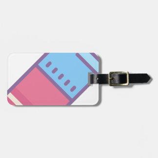 Eraser Luggage Tag