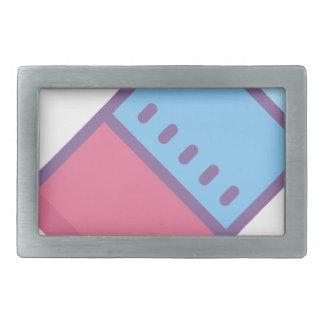 Eraser Rectangular Belt Buckles