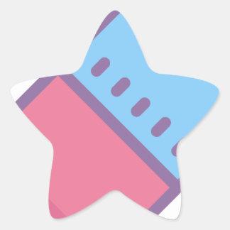 Eraser Star Sticker